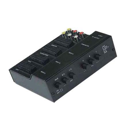 Adaptor conectare audio/video 4scart+6rca