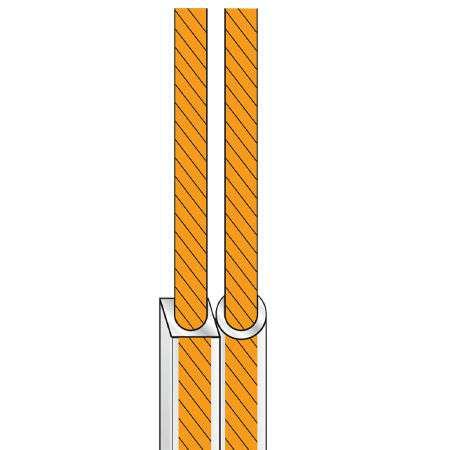 Cablu difuzor 2x2.5 transparent rola 5m edc