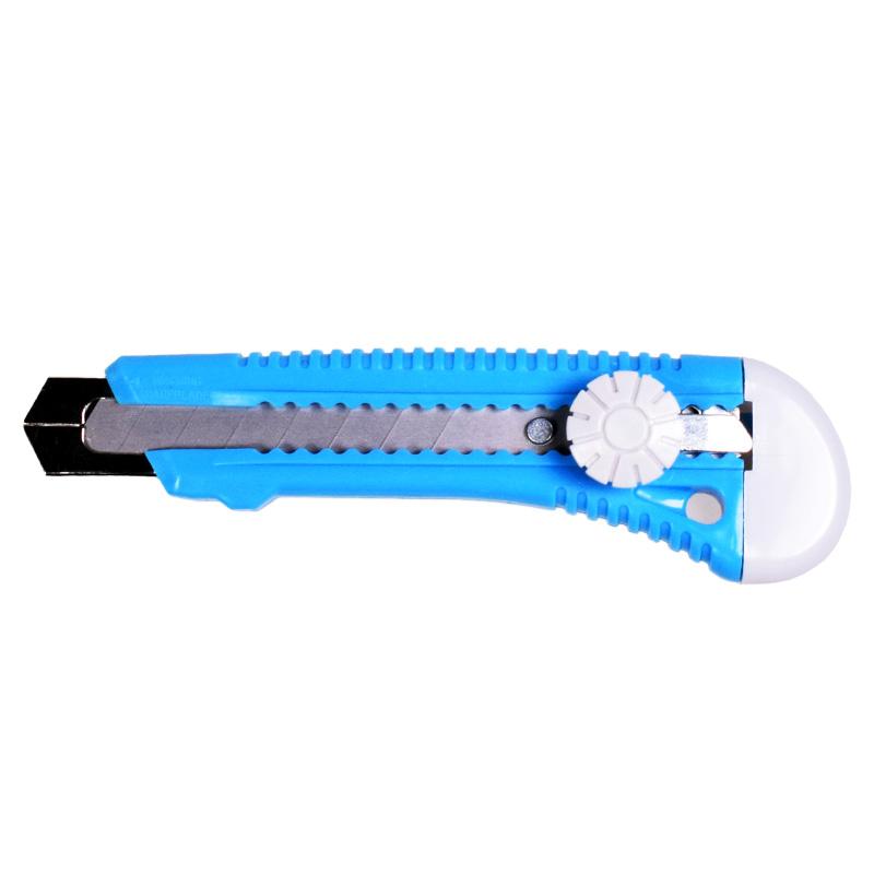 Cutter plastic 18mm cu sina metalica si surub