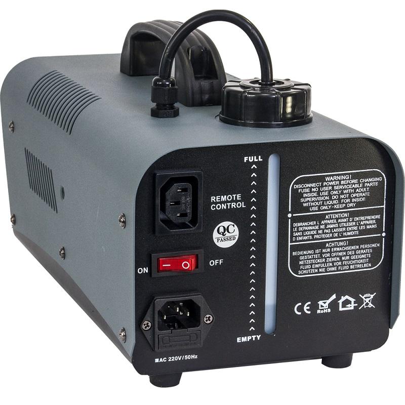 Masina fum 1000w + led-uri rgb 6x3w