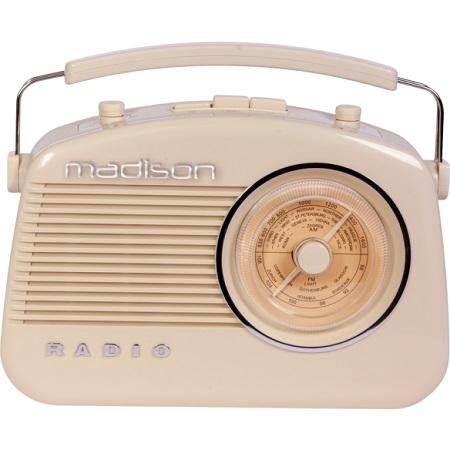 Radio fm portabil vintage 15w cu functie bluetooth/aux
