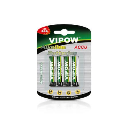 Baterie alcalina aaa 1.5v blister 4 buc