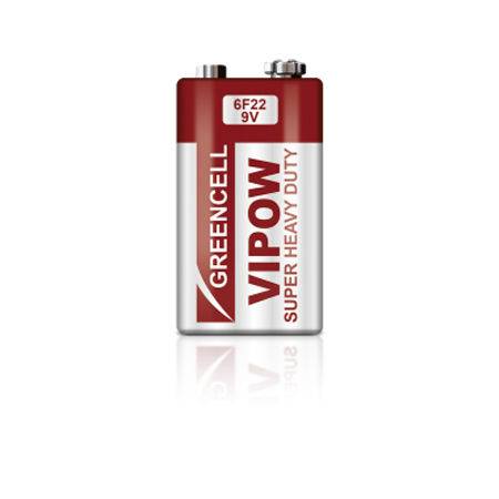 Baterie greencell 9v