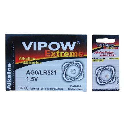 Baterie vipow extreme ag0 1 buc/blister