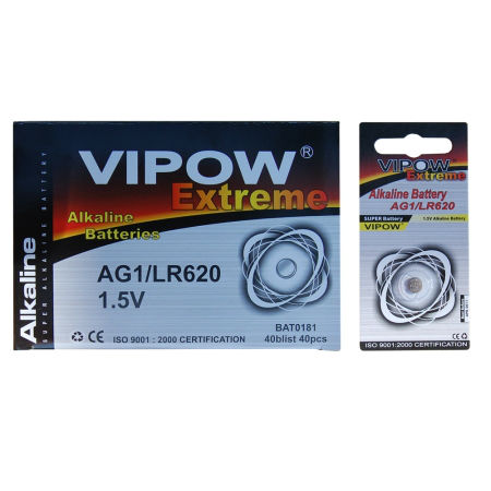 Baterie vipow extreme ag1 1 buc/blister