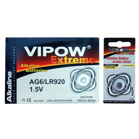 Baterie vipow extreme ag6 1 buc/blister