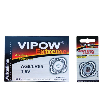 Baterie vipow extreme ag8 1 buc/blister