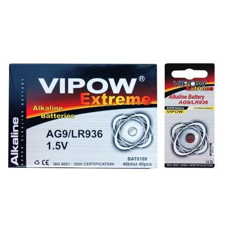 Baterie vipow extreme ag9 1 buc/blister