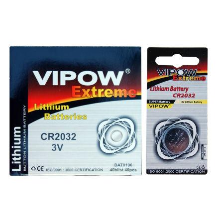 Baterie vipow extreme cr2032 1 buc/blister
