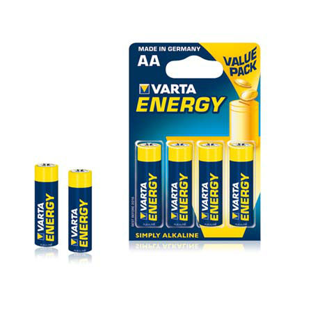 Baterie alcalina lr06 blister 4 buc varta ene