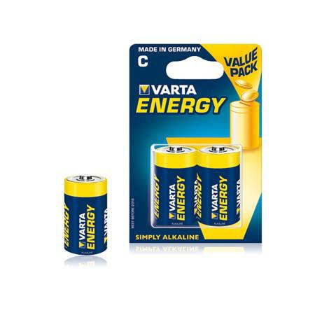 Baterie alcalina lr14 blister 2 buc varta ene