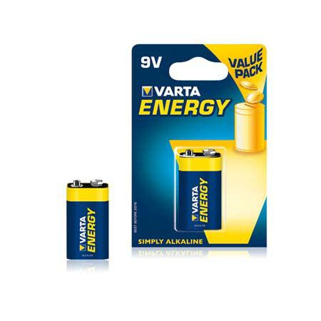 Baterie alcalina 9v blister 1 buc varta energ