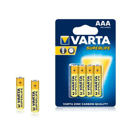 Baterie r03 blister 4 buc varta superlife