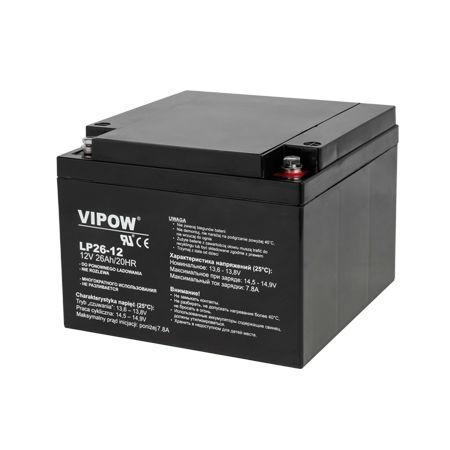 Acumulator stationar plumb acid 12v 26ah vipo