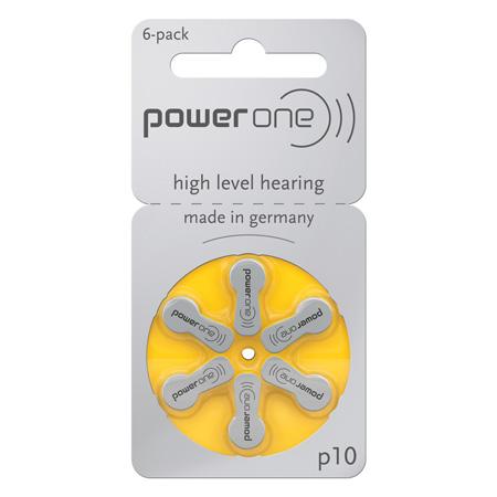 Set baterii auditive power one varta p10 bl 6