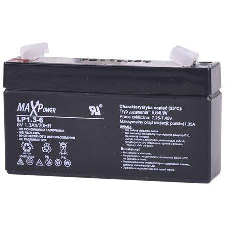 Acumulator stationar sla 6v 1.3ah maxpower