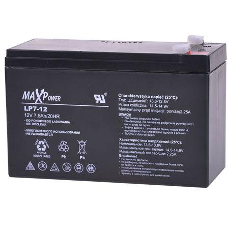 Acumulator stationar sla 12v 7ah maxpower