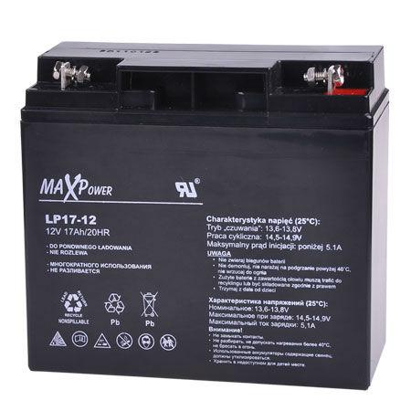 Acumulator stationar sla 12v 17ah maxpower