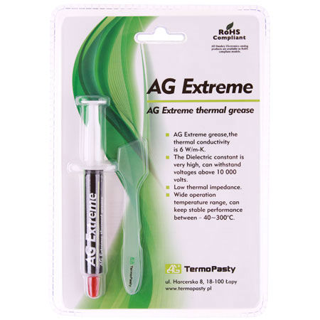 Pasta termoconductoare extreme 3g ag