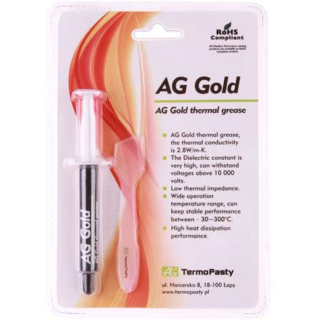Pasta termoconductoare gold 3g ag
