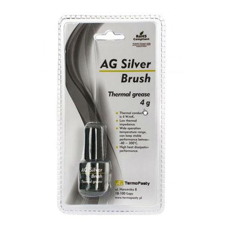 Pasta termoconductoare silver brush 4g
