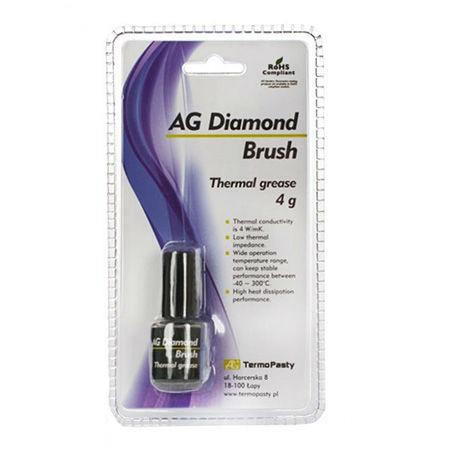 Pasta termoconductoare diamond brush 4g